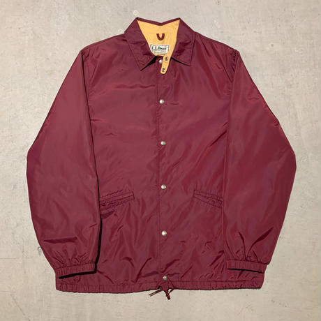 1980's L.L.Bean Nylon Coach Jacket