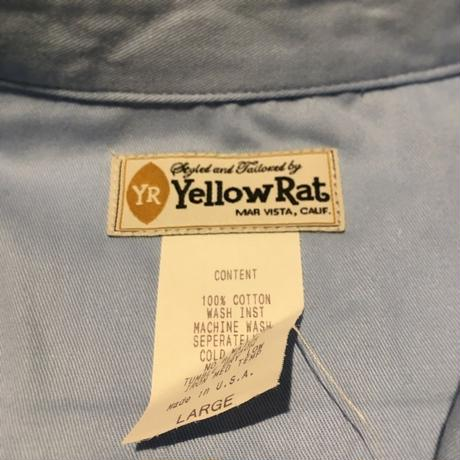 1980's Yellow Rat L/S Shirt Deadstock