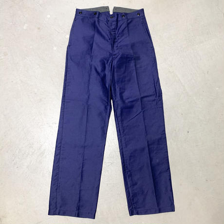 1930〜40's French Unknown Moleskin Trousers Deadstock