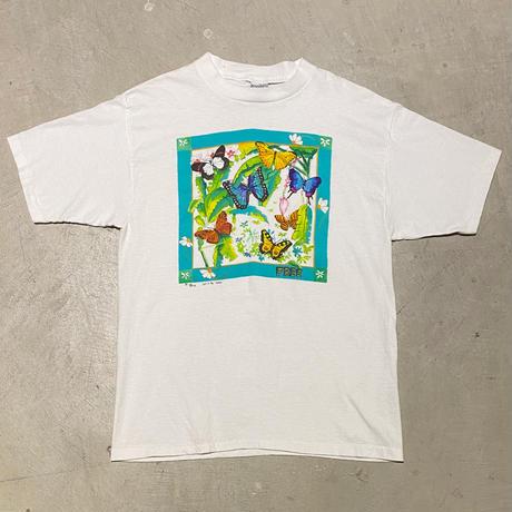 1990's FABRIC ART Printed Tee