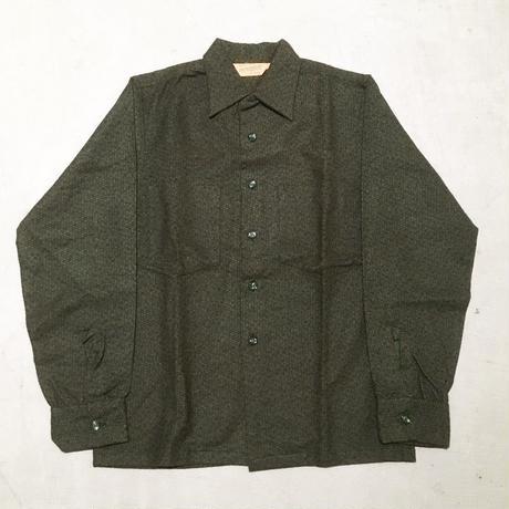 1950's DUTCHMAID Flannel L/S Shirt Deadstock