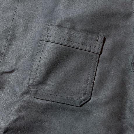 1950's Dumont-d'urville Black Moleskin Jacket Deadstock