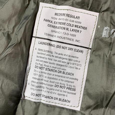 2000's US.Military ECWCS Gen3 Level7 Primaloft Jacket Deadstock