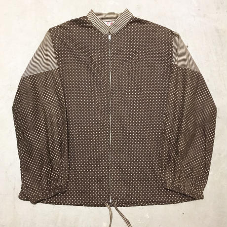 1970's Cole Dots&Border Cotton Blouson