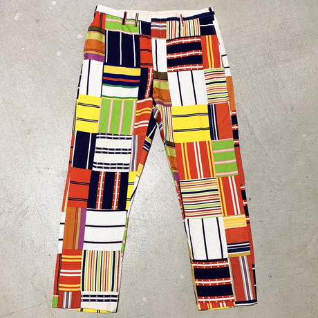 1960's〜 BRADFORD-LAW Crazy Pattern Tapered Pants