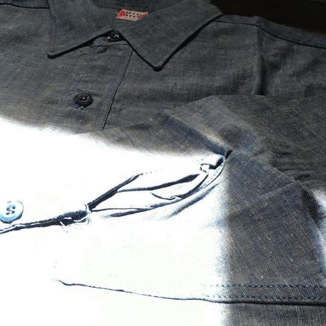 1960's BIG BILL Chambray L/S Shirt  Deadstock