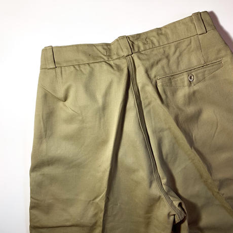 1950's French Railroad Chino Trousers Deadstock