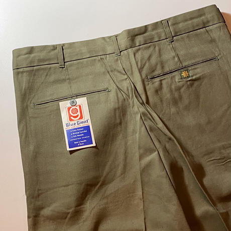 1960's〜 Blue Giant Tapered Pants Deadstock