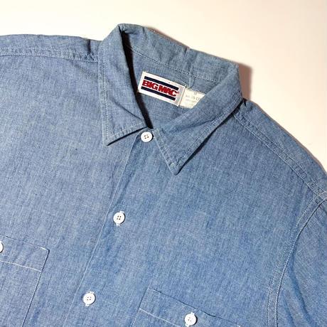 1980's BIG MAC Chambray S/S Shirt