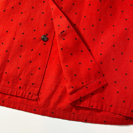1960's PILGRIM Mulch Dots L/S Shirt