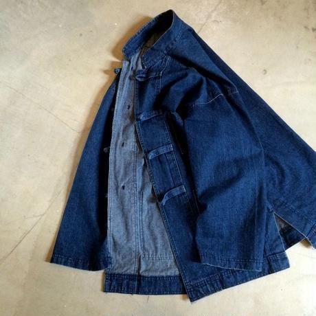 1990's east bay mercantile co. Indigo Denim China Jacket