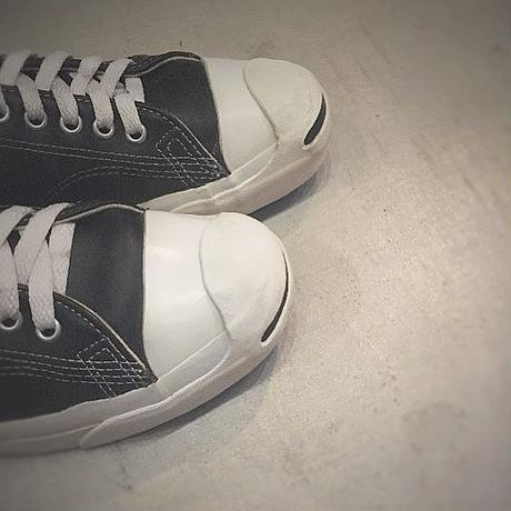 1990's CONVERSE JACK PURCELL Black Leather Low