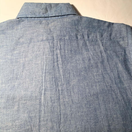 1980's FIVE BROTHER Chambray L/S Shirt Deadstock