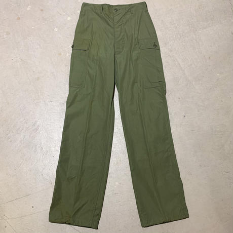 1960's US.ARMY Jungle Fatigue 1st Trousers Deadstock