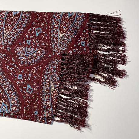 1950's Unknown Rayon Scarf
