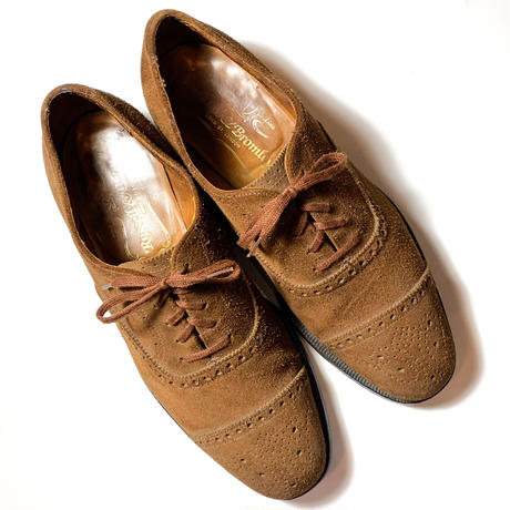 1970's〜 Russell&Bromley Brown Suede Shoes