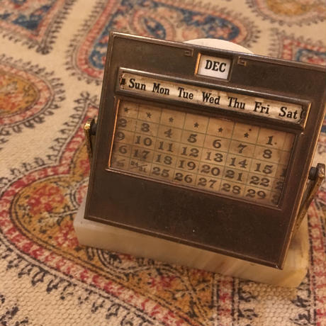 1920〜30's DIAMOND POINT.NY Desk Calender