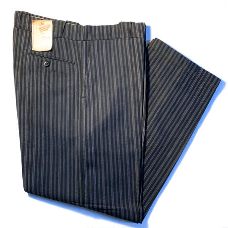 1950's French Unknown Cotton Trousers Deadstock
