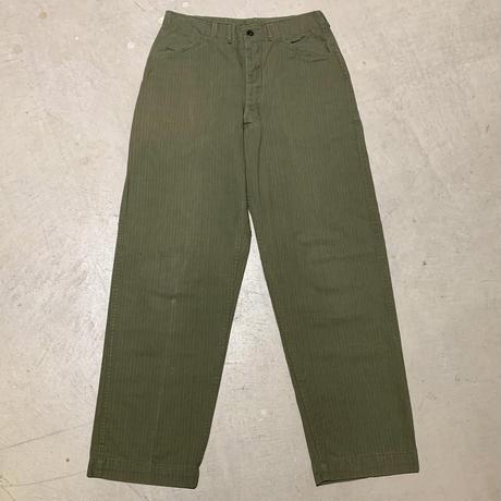 1940's US.NAVY N-3 Herringborn Trousers