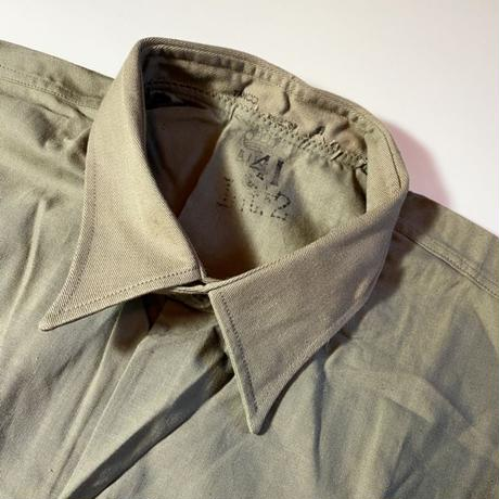 1940's Swedish Military M-39 Pullover L/S Shirt Deadstock