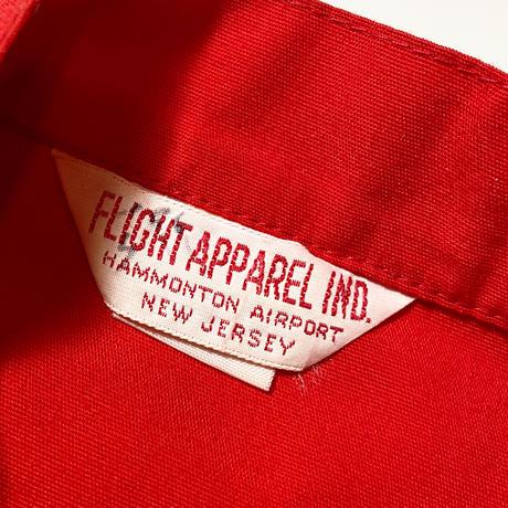 1960〜70's FLIGHT APPAREL IND. Racing Jacket Deadstock