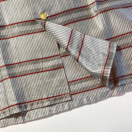 1960's CAMPUS Cotton&Silk S/S Shirt Deadstock