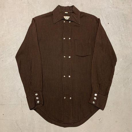 1960's〜 Davidson's Double Brest L/S Shirt