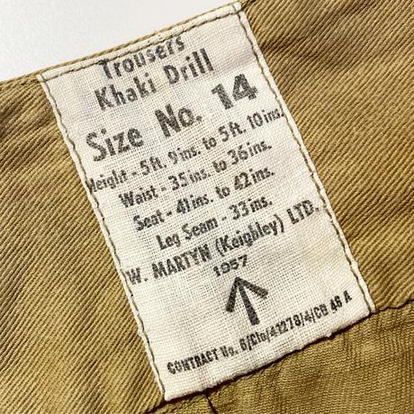 1950's British Army Gurkha Trousers