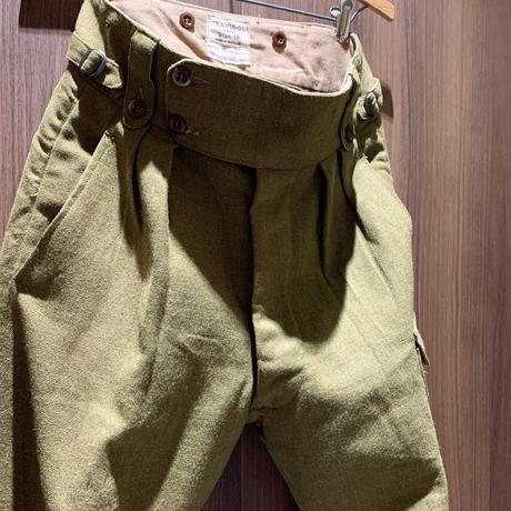 1950's Australia Military Wool Trousers