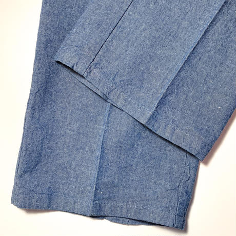 1970's〜 Unknown Chambray Trousers