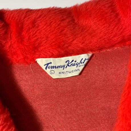 1960's Tommy Kinght Acryl Fur Pullover Jacket