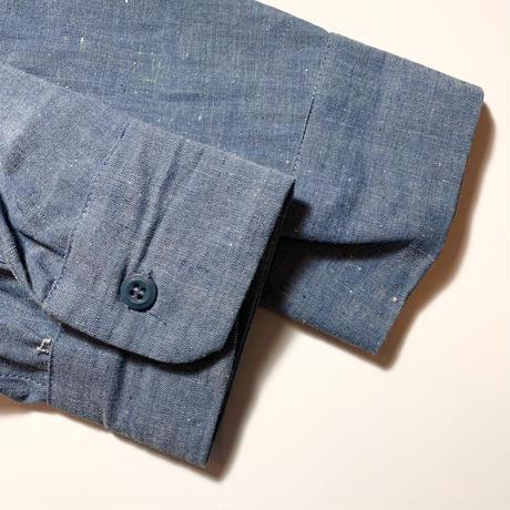 1960's WEAR WELL Chambray L/S Shirt Deadstock