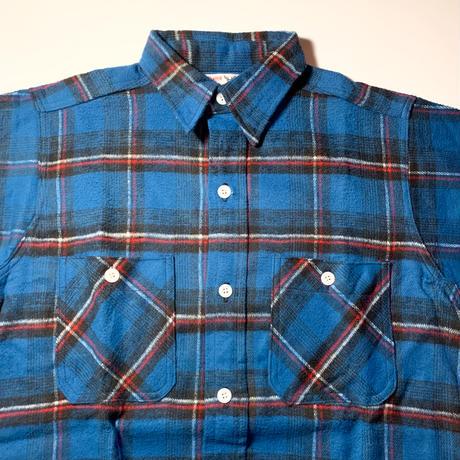 1950〜60's Winter King Heavy Flannel L/S Shirt Deadstock