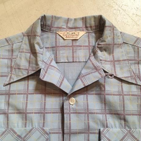 1940〜50's BLOCKS SOUTHLAND L/S Shirt