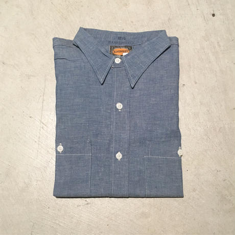 1950〜60's RIVERSIDE Chambray L/S Shirt Deadstock
