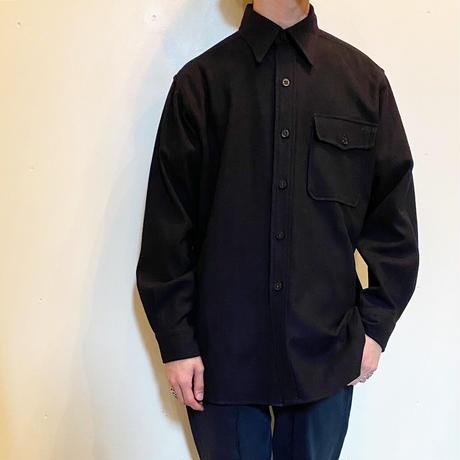 1940's US.NAVY CPO Wool L/S Shirt