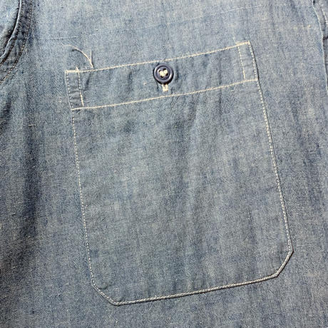 1950's US.NAVY Chambray L/S Shirt
