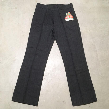 1950's BEAU-FORT Cotton Trousers Deadstock