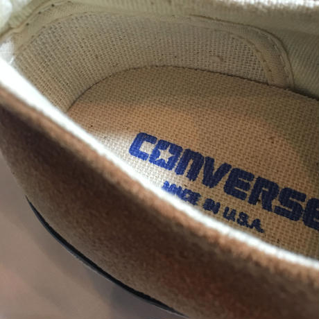 1990's CONVERSE ALL STAR Low Suede Deadstock
