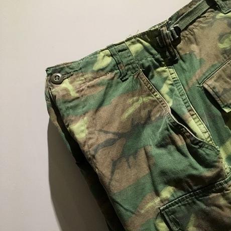 1960's US.ARMY ERDL Non Rip Jungle Fatigue Trousers