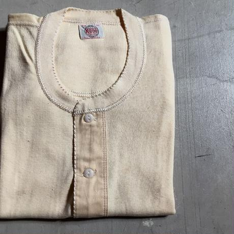 1940's〜 Knox Knit Henlyneck L/S Tee Deadstock