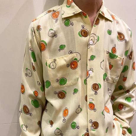 1960's Lance-Set Rayon L/S Shirt