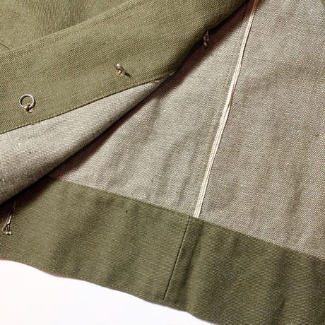 1950's British Army Green Denim Jacket Deadstock