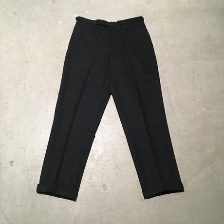 1960's Unknown Wool  Tapered Slacks