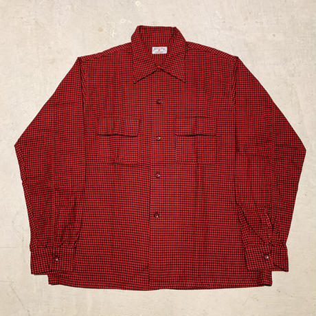 1950's Lion of Troy Flannel L/S Shirt Deadstock