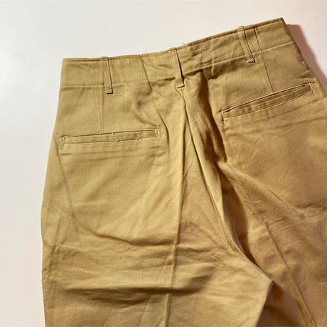 1940's US.ARMY M-43 Chino Trousers Deadstock