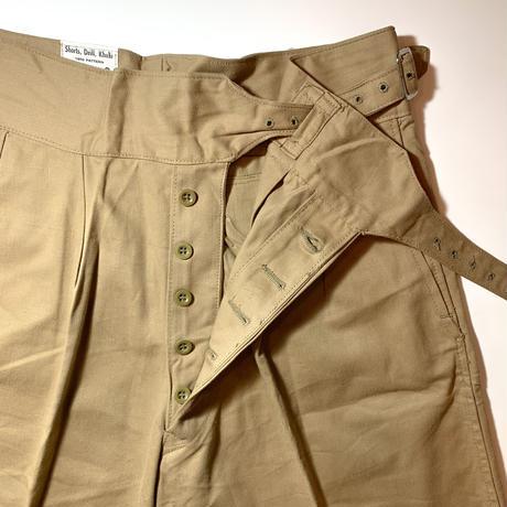 1960's British Army Gurkha Short Pants Deadstock