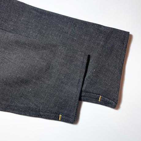 1950's British Unknown Black Denim Work Jacket Deadstock