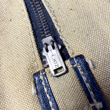 1940〜50's Unknown Canvas Pouch