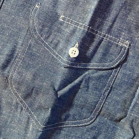 1960's OSHKOSH Chambray L/S Shirt Deadstock